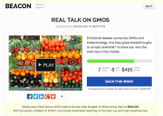 Real Talk on GMOs on Beacon Reader
